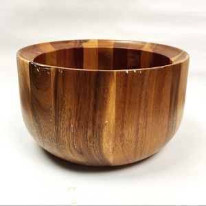 Pierre's Pantry Acacia Large Wooden Bowl